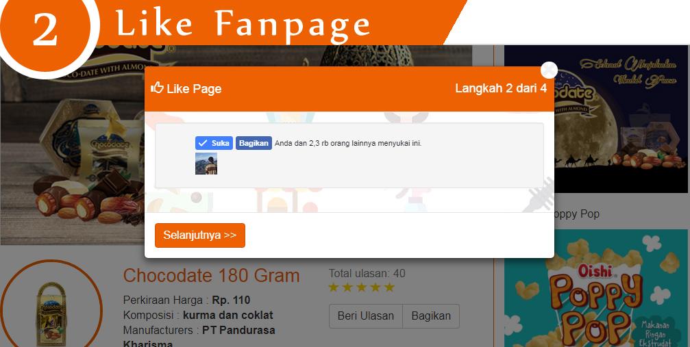 2 like page